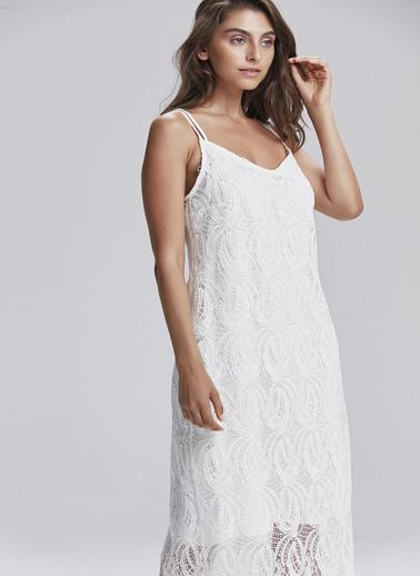 Love My Body Elbise Beyaz